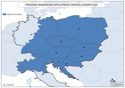 Program spolupráce Interreg CENTRAL EUROPE