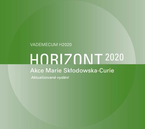 """Aktualizovaná brožura """"Akce Marie Sklodowska-Curie v programu Horizont 2020"""""""